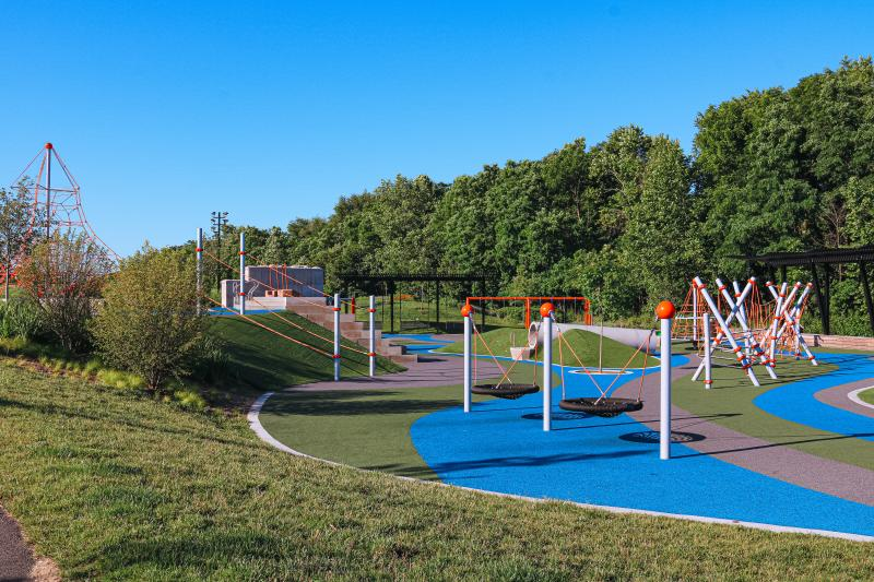 Playground at Switchyard Park