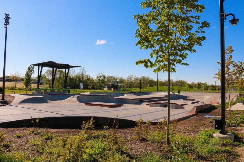 Skatepark at Switchyard Park