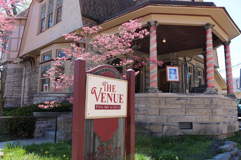 Exterior of The Venue