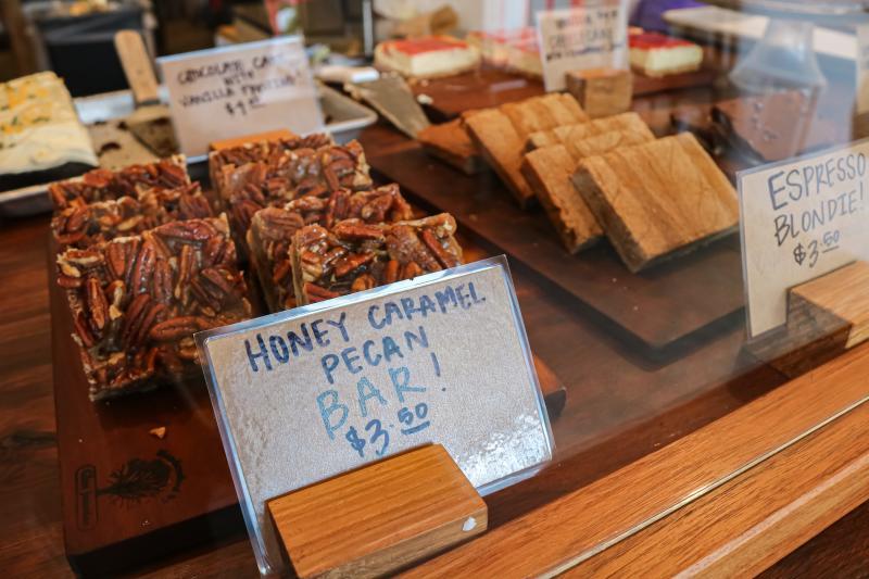 Honey Caramel Pecan Bar from Two Sticks Bakery