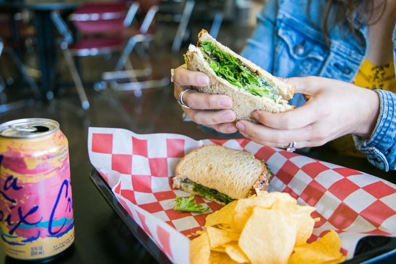 Chicken Salad Sandwich from Underground Bakery