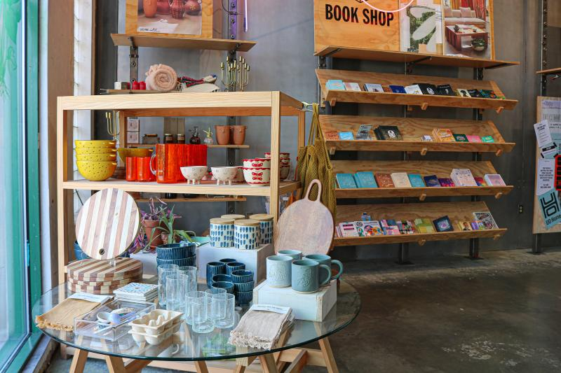Home goods display at Urban Outfitters