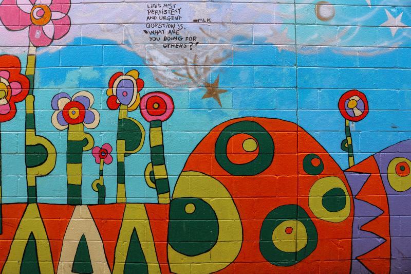 Village Deli Mural on Kirkwood