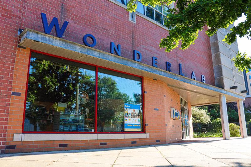 Exterior of WonderLab