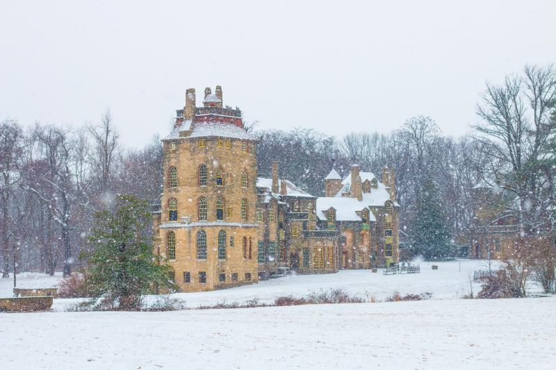 Snow at Fonthill