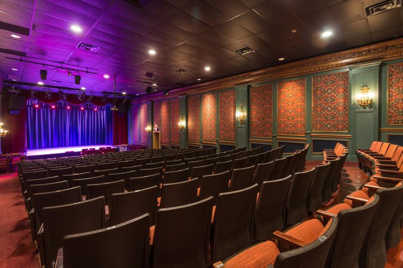 Sellersville Theater stage