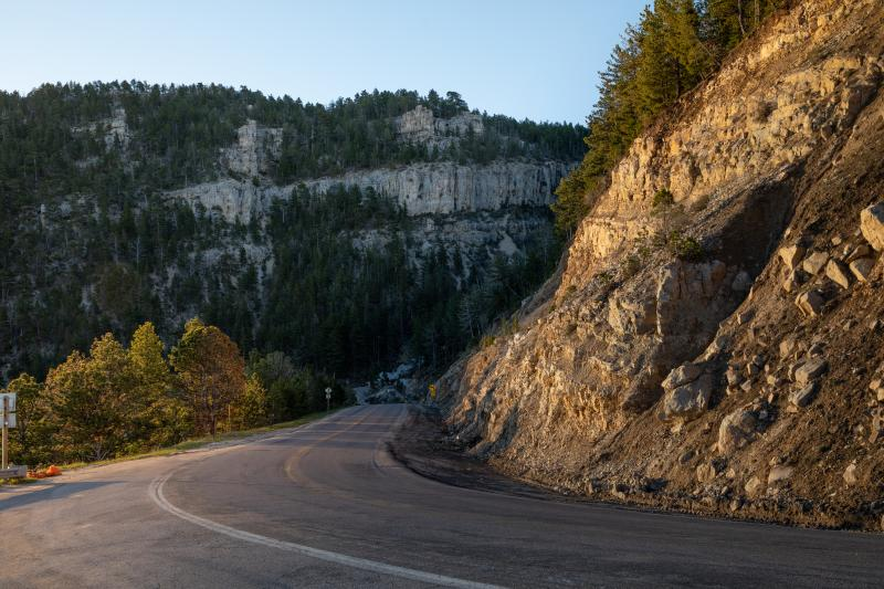 Casper mountain road
