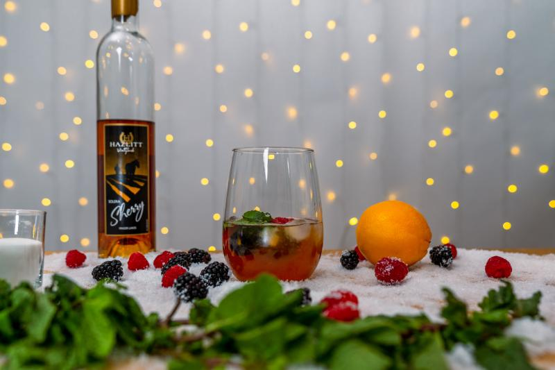 FLX Fortified Wine Cocktails - Solera Sherry Berry Cobbler