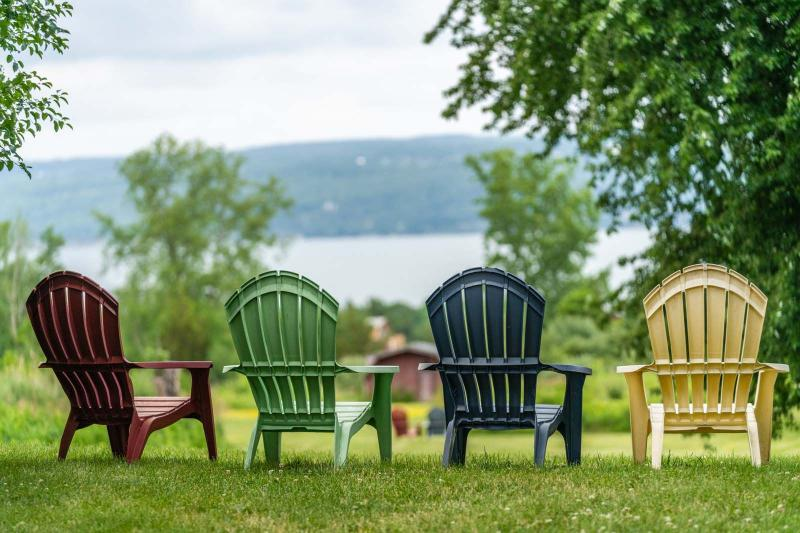 summer views in Finger Lakes Wine Country