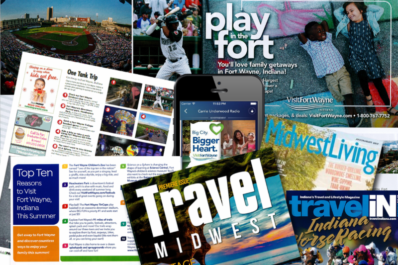 Visit Fort Wayne Summer Advertising