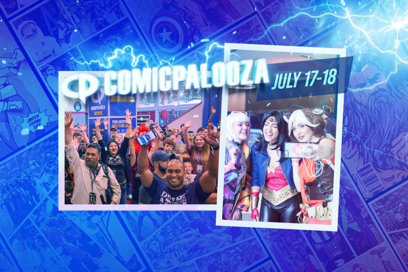 Comicpalooza July 17-18