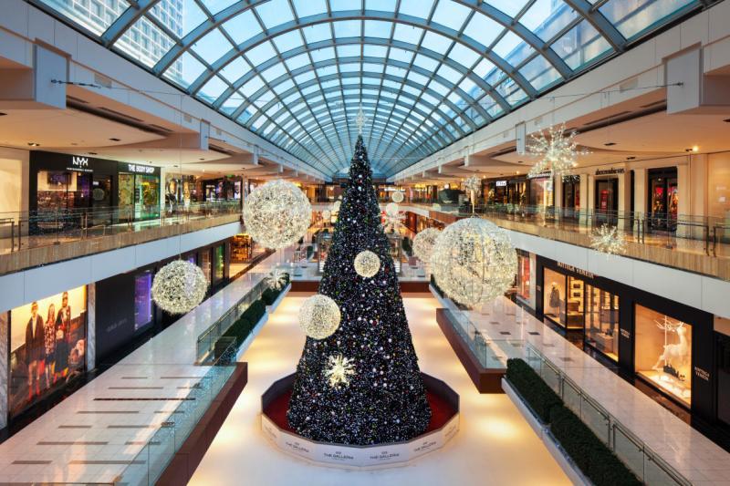 The Galleria Tree