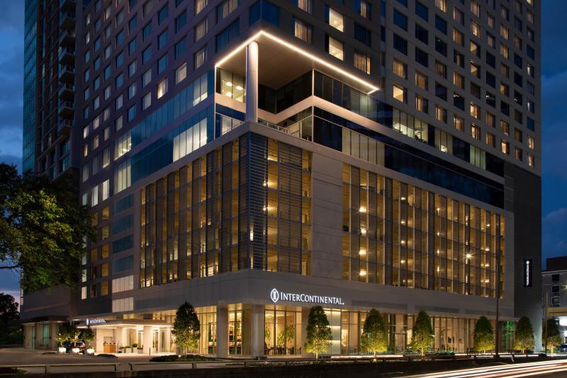 InterContinental Houston -Medical Center night view