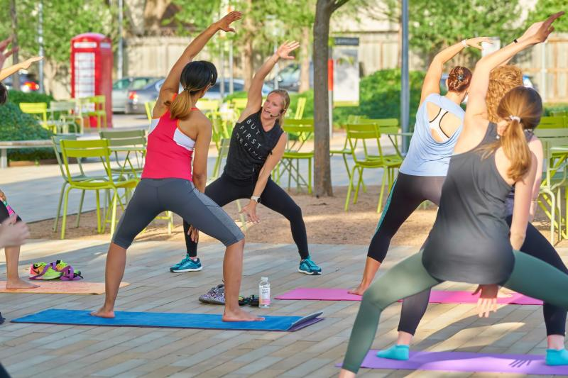 Levy Park Fitness Classes