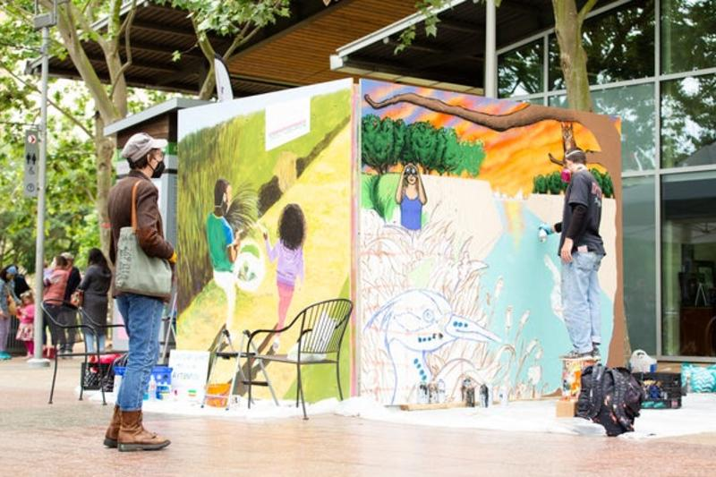 Houston Urban Artists at Discovery Green