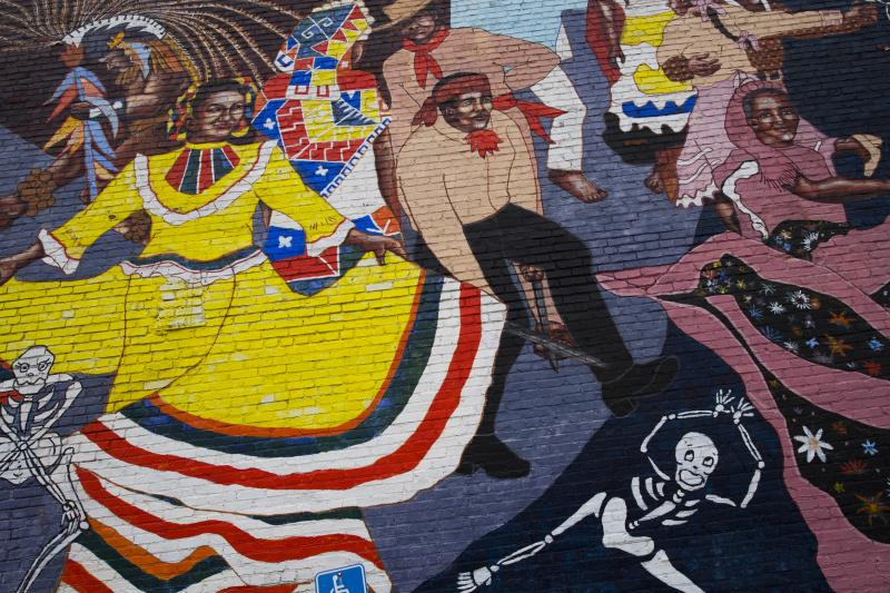 Dancing Mural