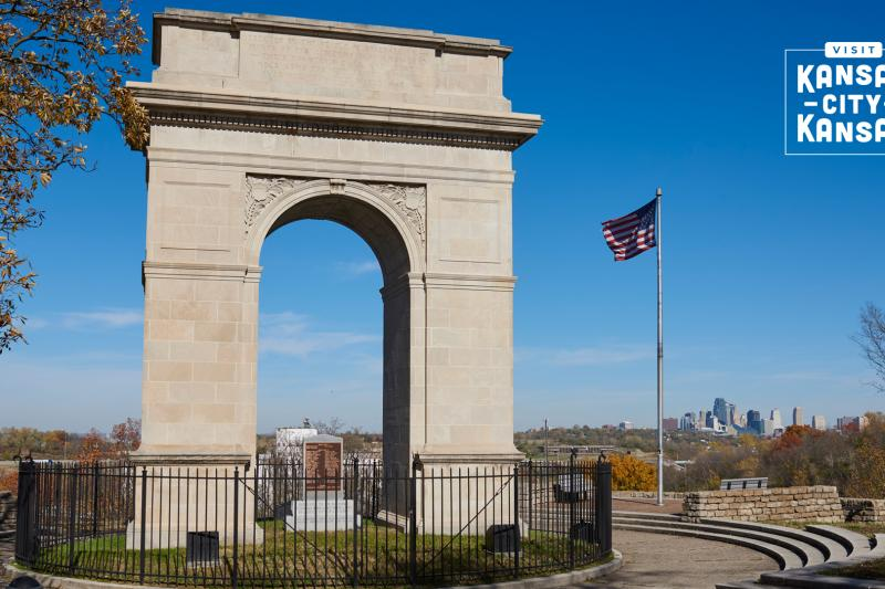 Rosedale Memorial Arch Virtual Background
