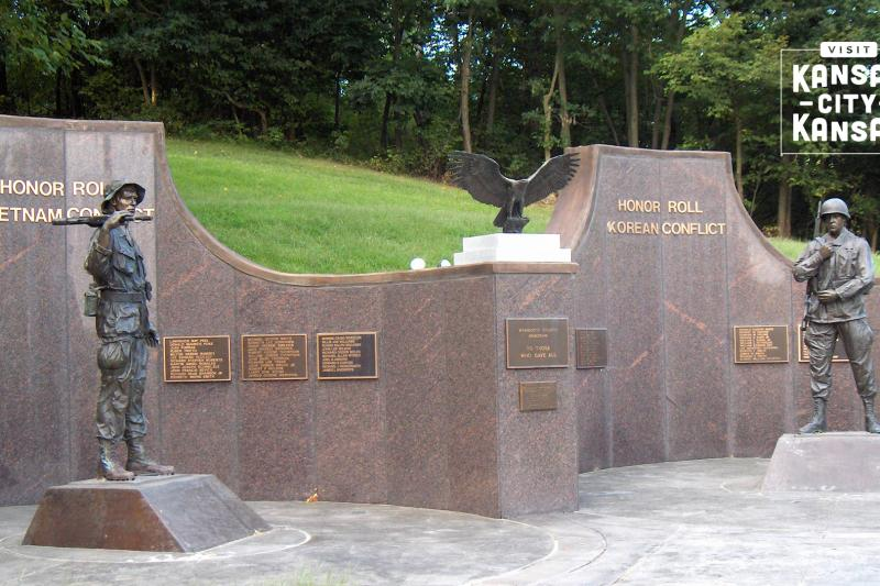 Korean-Vietnam War Memorial Virtual Background