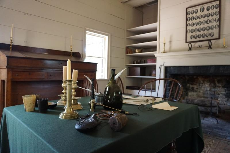 Governor William Blount's Office at Blount Mansion