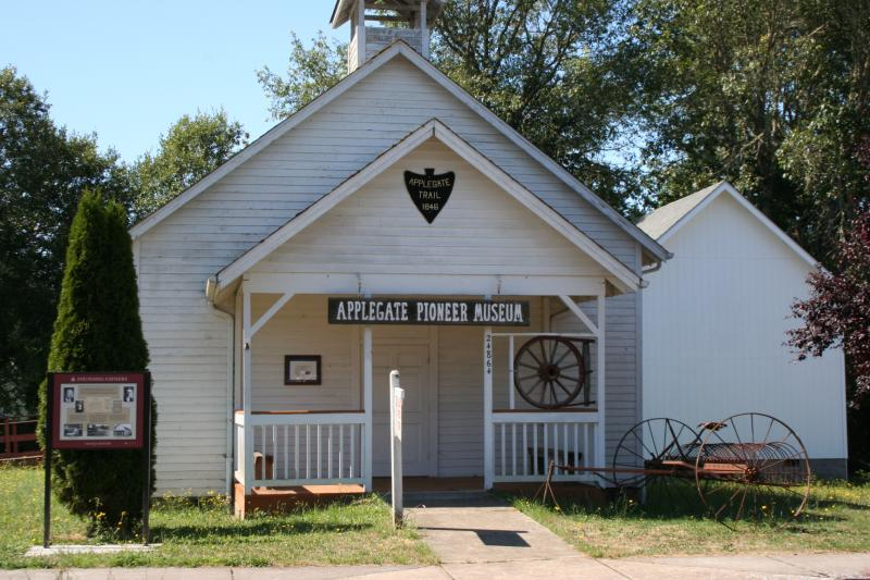 Applegate Pioneer Museum by Taj Morgan