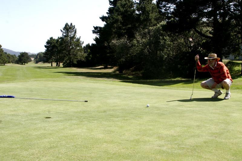 Oregon Dunes Golf Links by Julia Carr