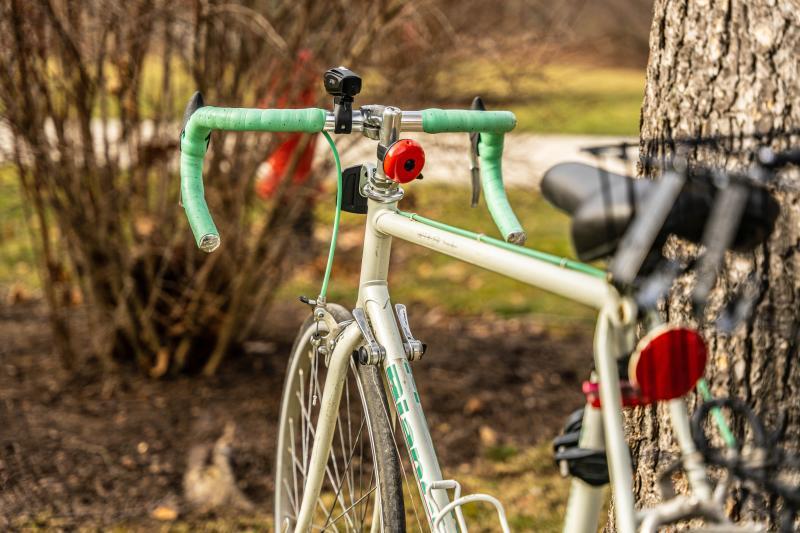 Biking in spring