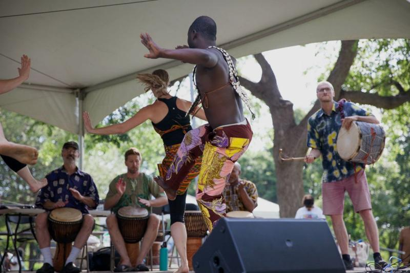 Performance at Twin Cities World Refugee Day