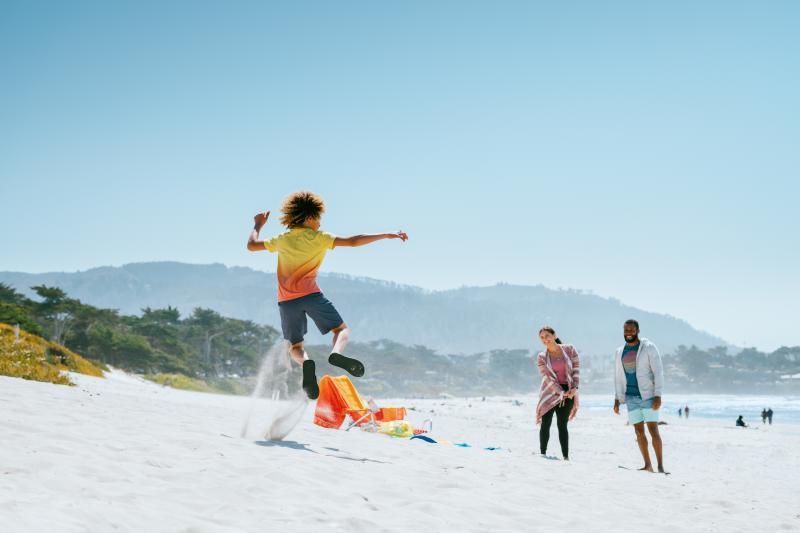 Carmel beach moment