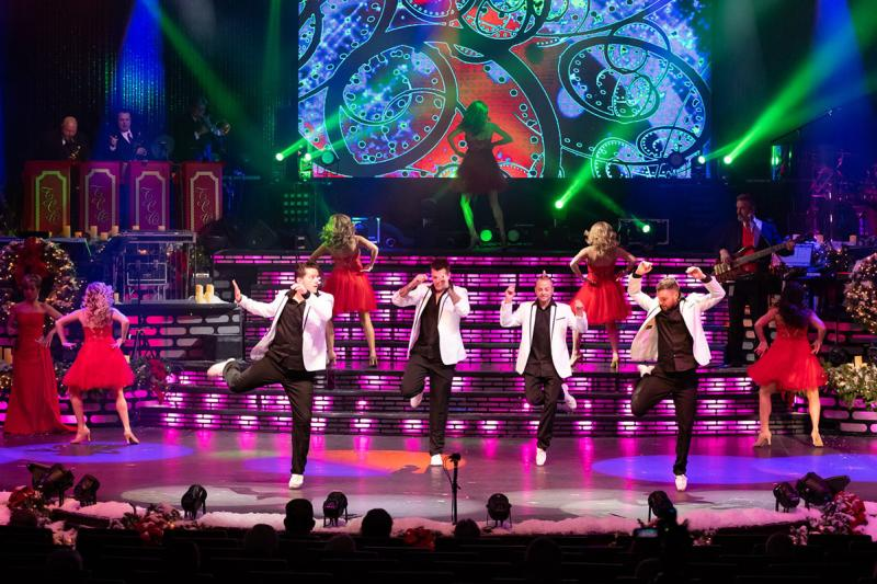 All That performs during The Carolina Opry Christmas Special, Myrtle Beach, SC