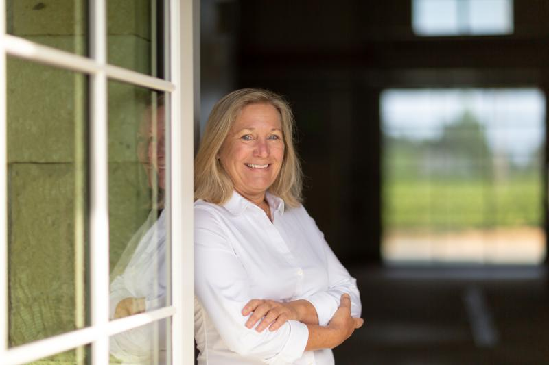 Pam Starr is the founder and winemaker of Crocker & Starr Winery.