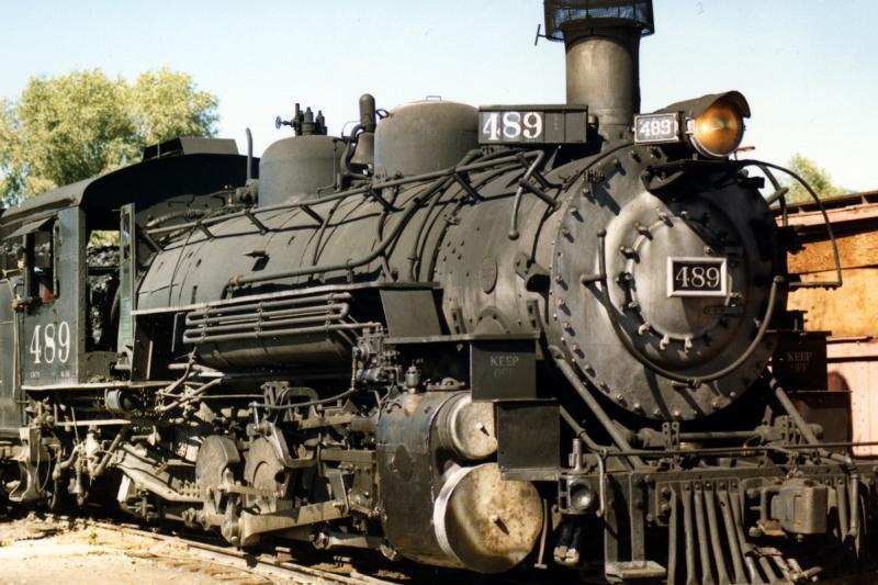 Cumbres and Toltec Scenic Railroad Steam Locomotive