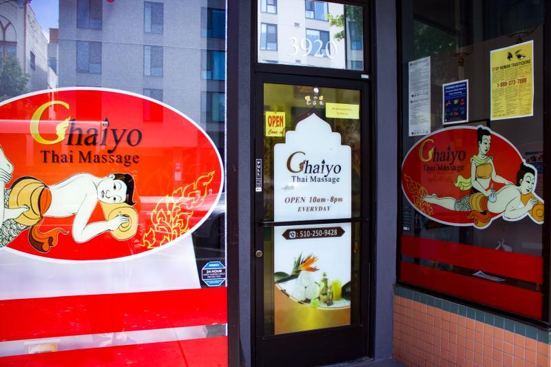 Chaiyo Thai Massage Entrance