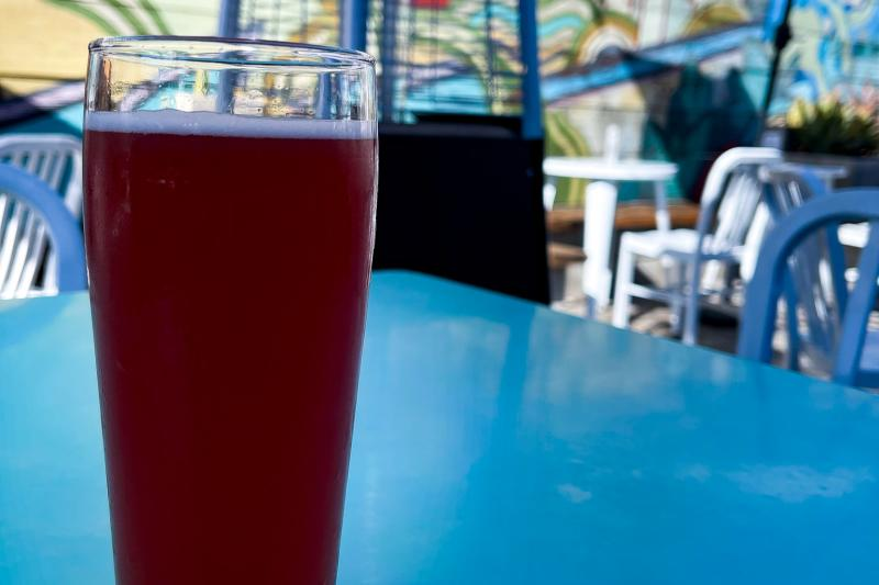 Beer on table from Temescal Brewing