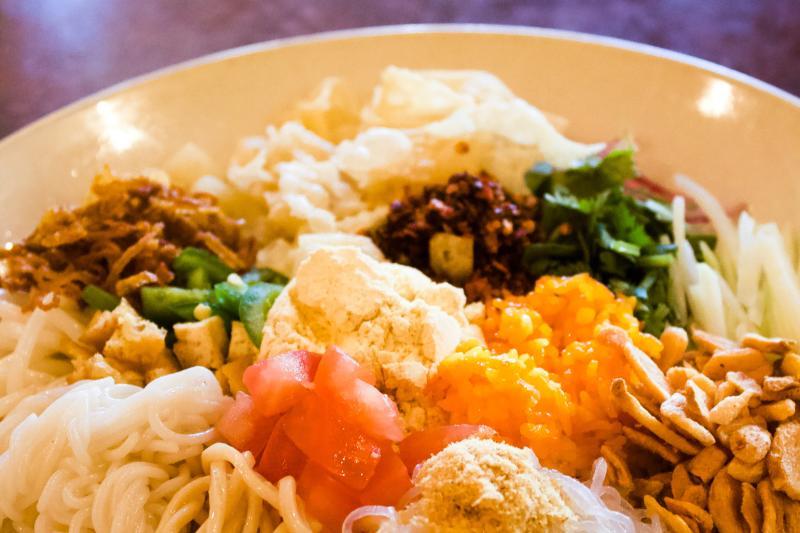 Burma Superstar Food Platter