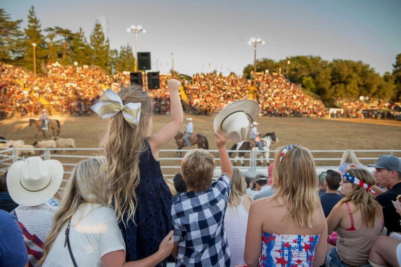 Photo courtesy of the Folsom Pro Rodeo