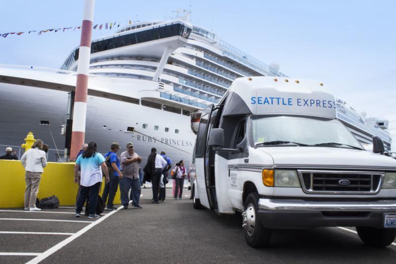 Seattle Express Tours Seattle Cruise Shuttle Bus