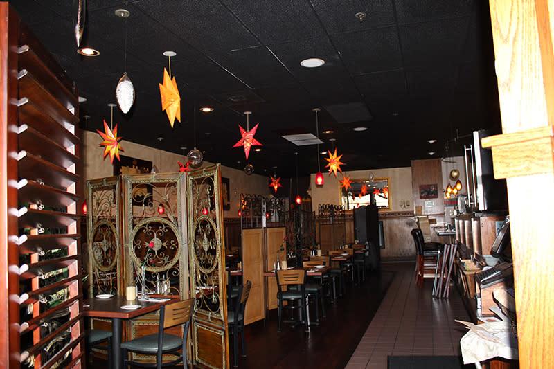 Grazie Ristorante Italian Restaurant in Tukwila Interior