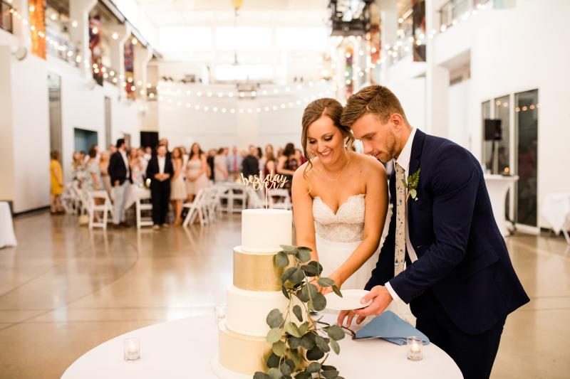 Foundry Art Centre Wedding Jessica Lauren Photography