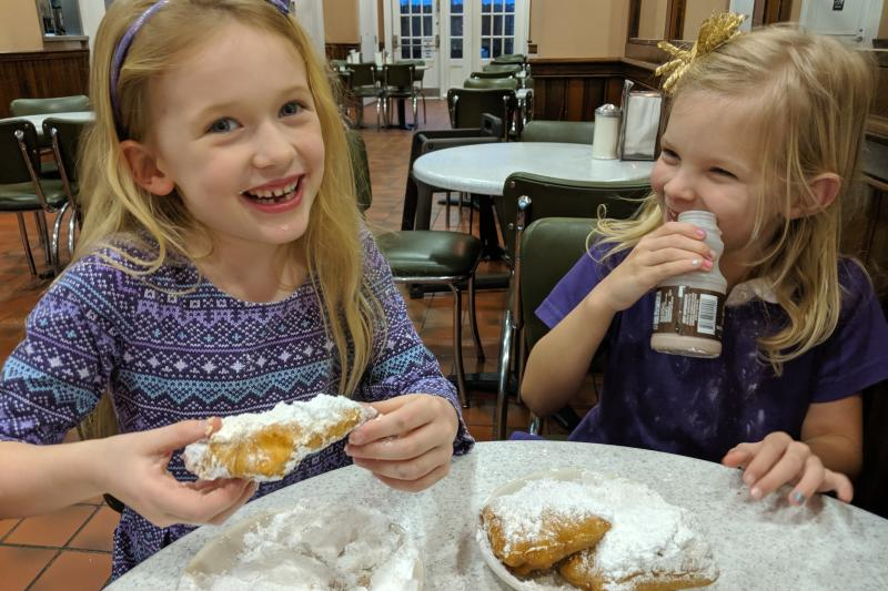Yay for beignets