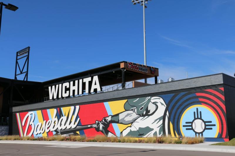Riverfront Stadium Mural