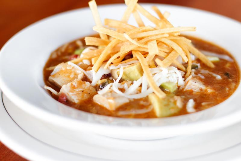Tortilla Soup from RedRock Canyon Grill