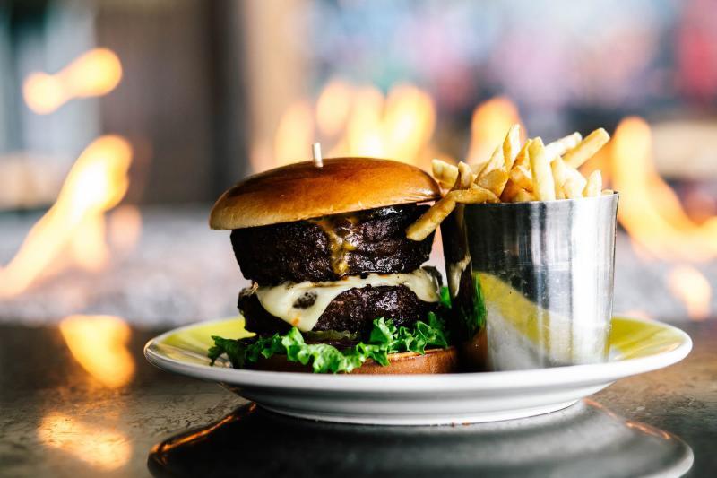 Big 'Merica Burger from Stearman Field Bar & Grill