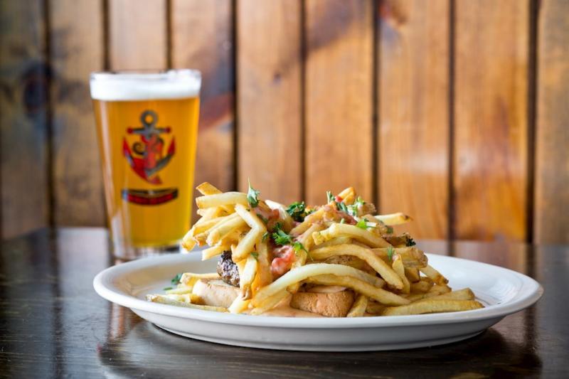 The Anchor's Haystack Burger