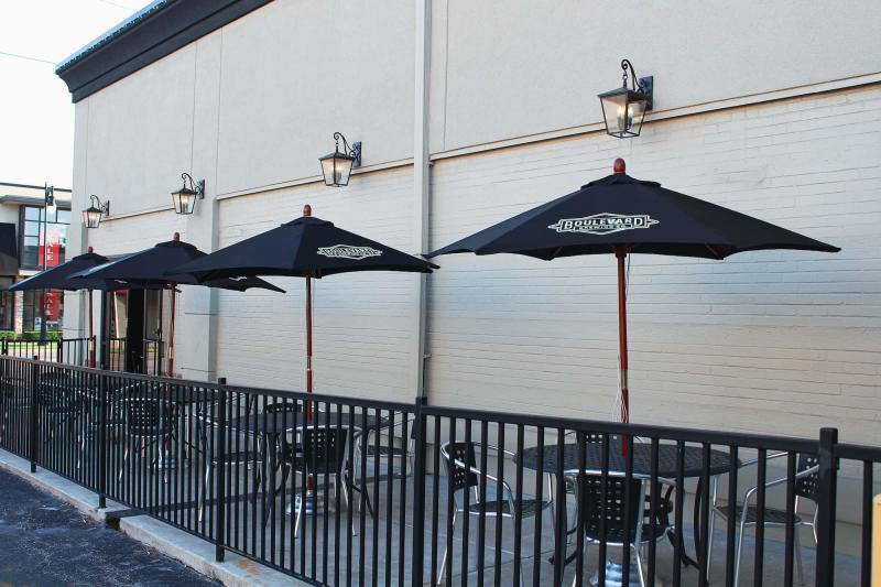 Patio at The Hill