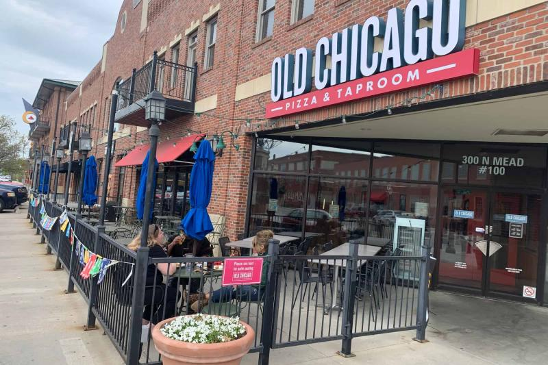 Old Chicago Patio in Old Town