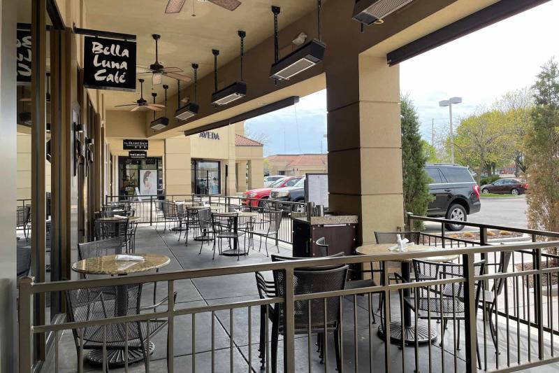 Bella Luna Cafe Northeast Patio