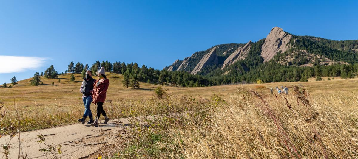 Flatirons Fall Hiking