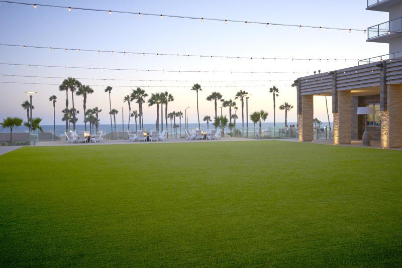 Event Lawn at Pasea Hotel & Spa in Huntington Beach