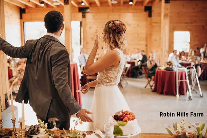 Robin Hills Farm wedding