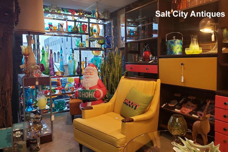 Salt City Antiques interior